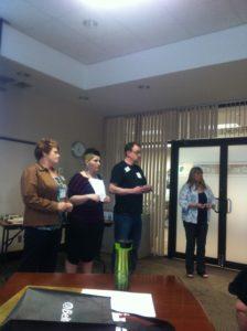 Roxanne, Kelsey, Jo, & Mandy--four amazing people!!