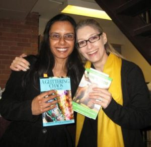 Me and author Lisa de Nikolits